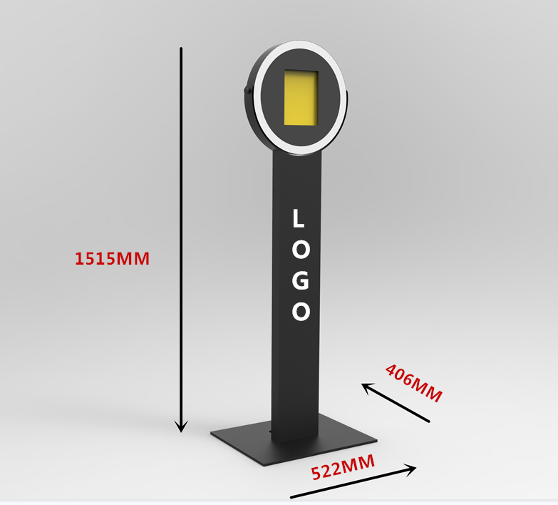 Portable ringlicht ipad photo booth, LED SMD ringlicht, event photo booth kiosk
