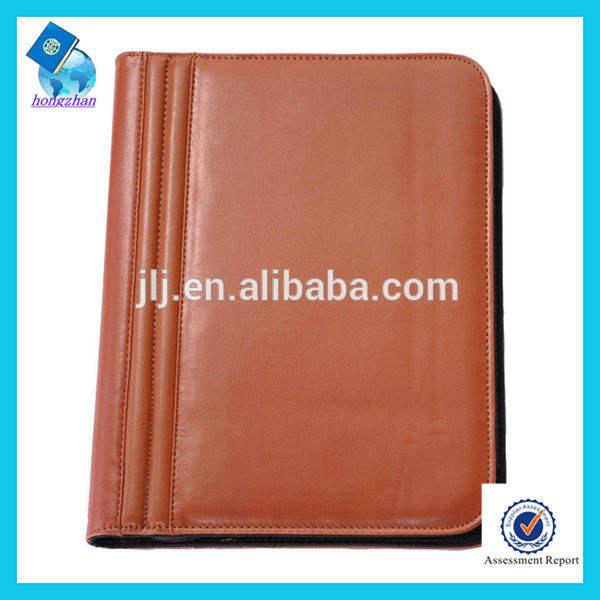 محفظة جلدية الرمز a4 لتعزيزالعرف