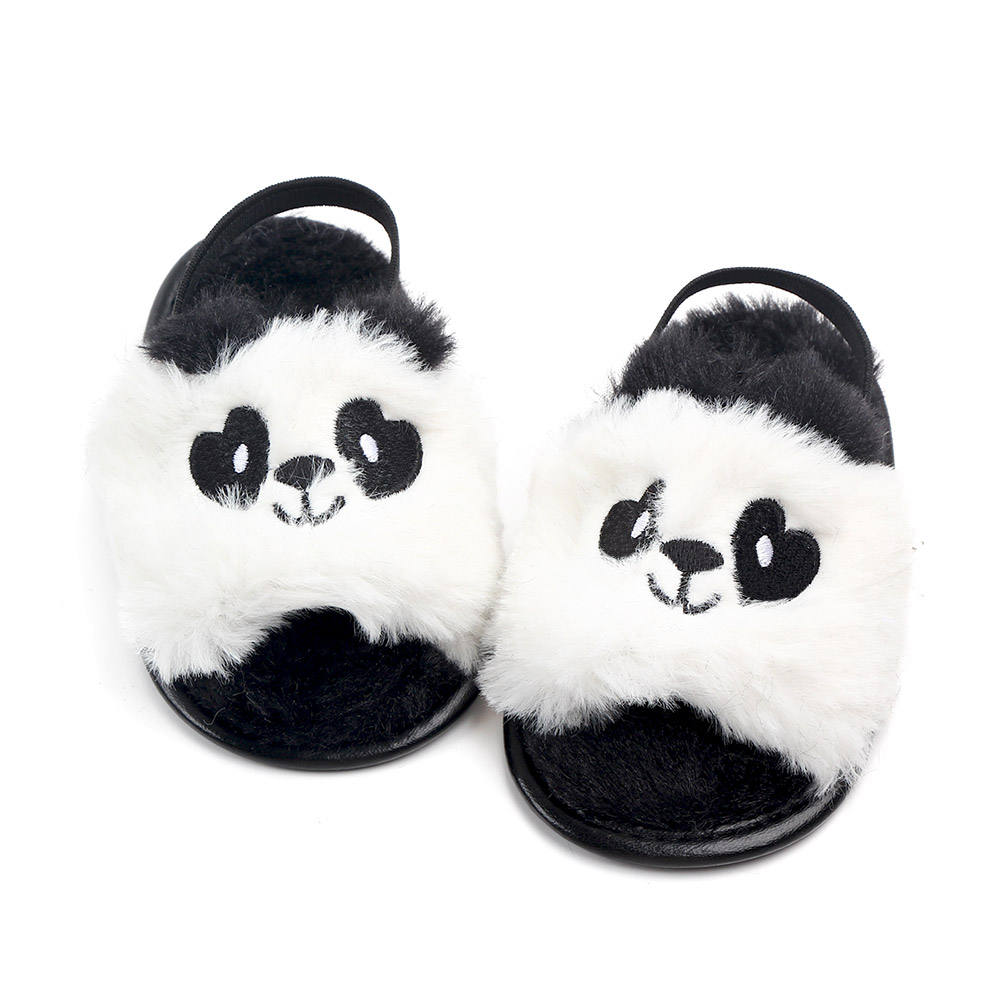 New arrival cute cartoon plush baby slippers shoes