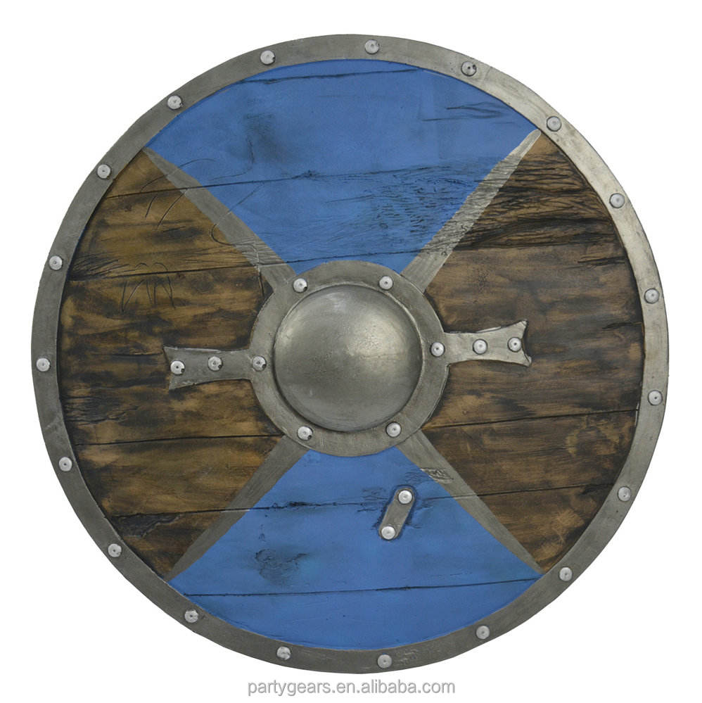 New Avvrial! Round Foam Shield High Quality Special Tearproof PU Foam Prop Medieval Viking Shield