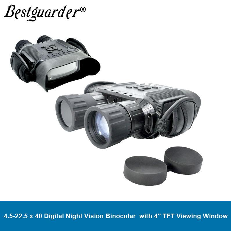Bestguarder Digital 3.5-10.5x32 Vision nocturne monoculaire portée avec Wifi