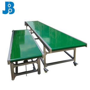 OEM custom multi function 폭 belt conveyor/flat belt 이송