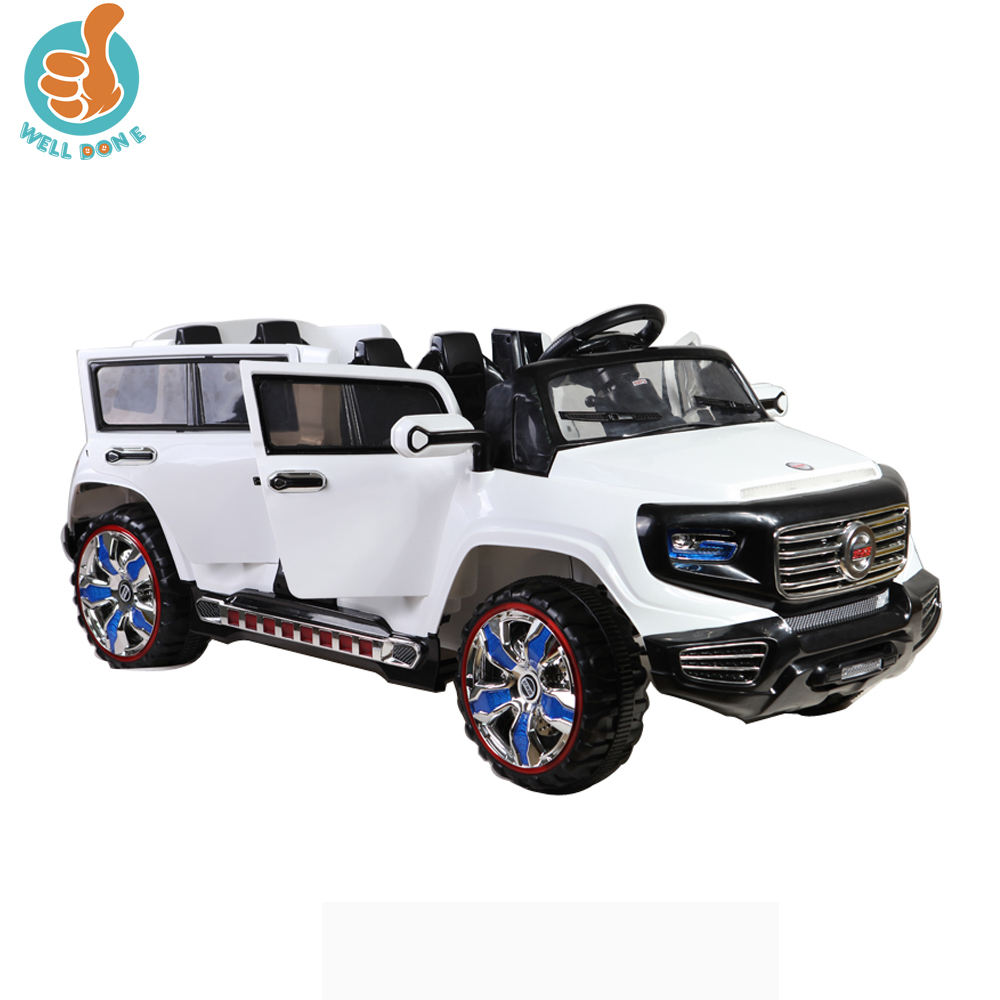 WDSX1528 2015 Newest Battery Car Toy For Children, 4 Seater Kids Electric Car,With 4 Doors Open