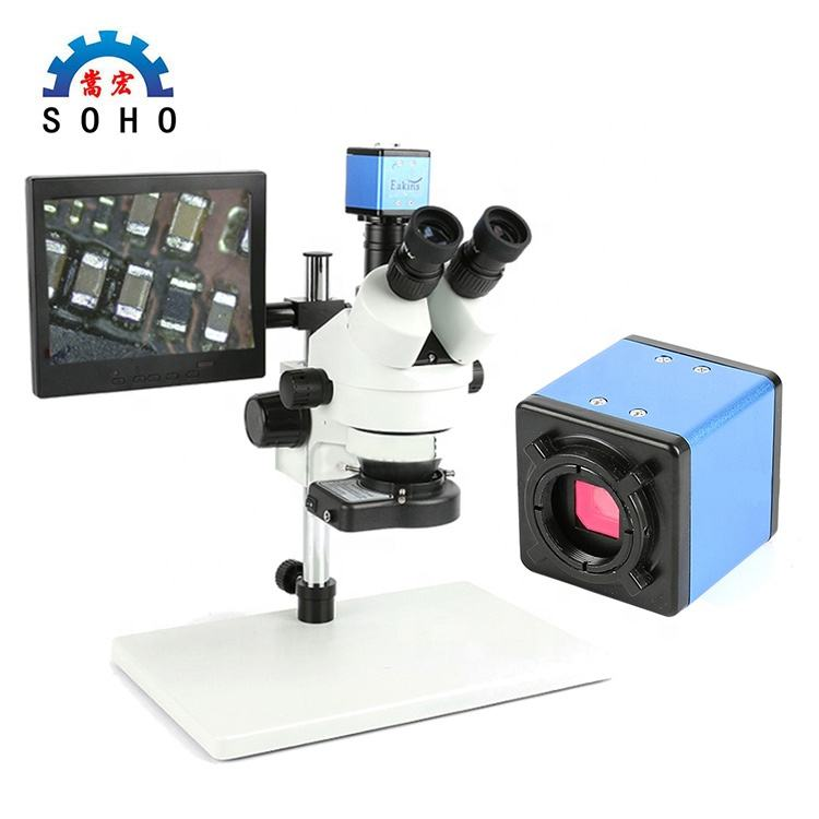 Microscope binocular digital VGA Video Camera Electronic Trinocular Stereo Digital Binocular Microscope
