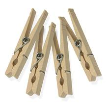 Traditional Wood Clothespins