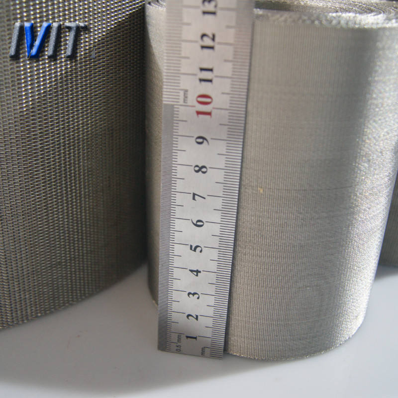 1250 micron stainless steel wire mesh cylinder filter for oil and plastic filter