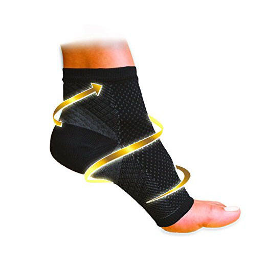 New Sport COPPER Foot Sleeve Unisex Anti Fatigue Medical Compression Ankle Socks