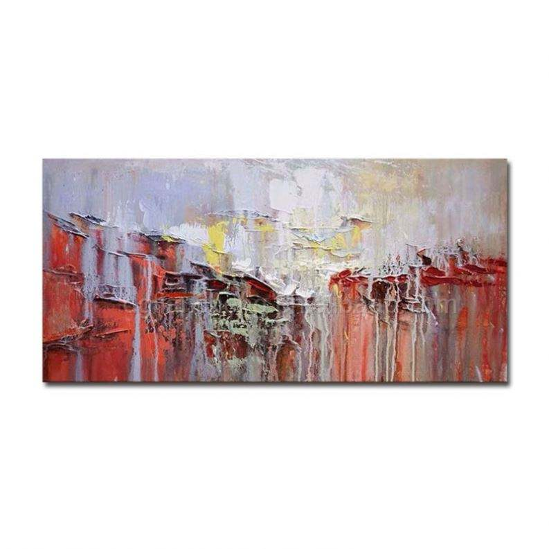 Hand-painted oil painting wall art 2 abstract painting hand painting oil canvas