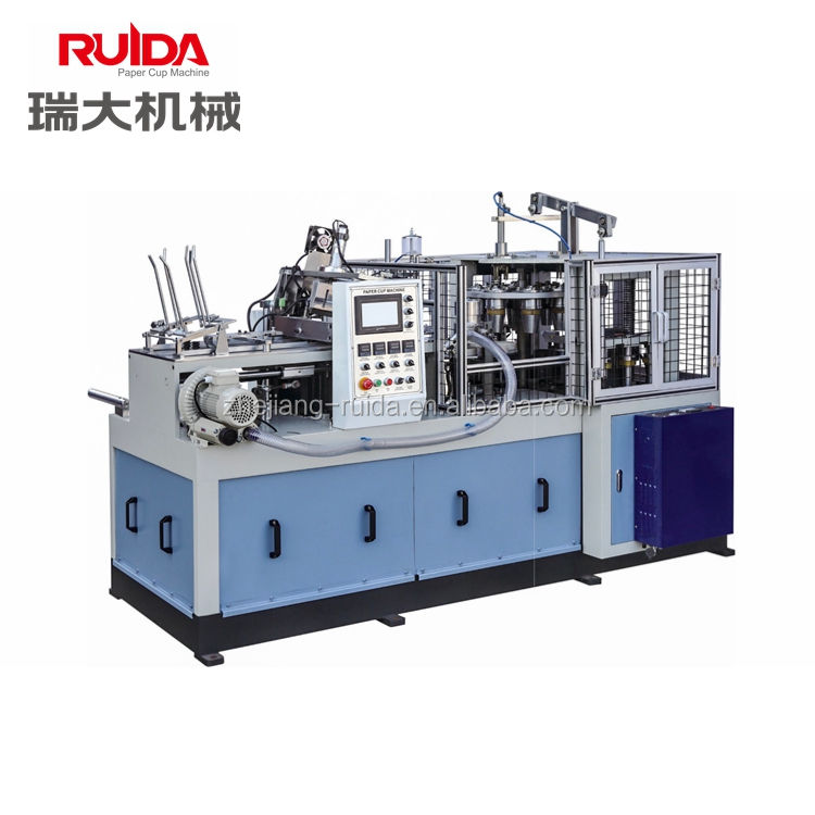 RUIDA Automatic Paper Cup Making Machine With Handle