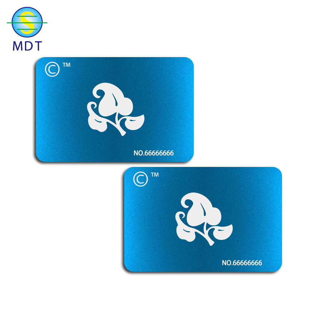 MDT frosted engraving metal business card google play gift card