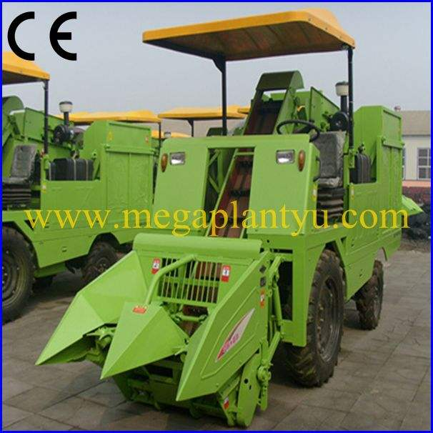 Tractor Small Farm Used Corn Combine Harvester Export Manufacturer