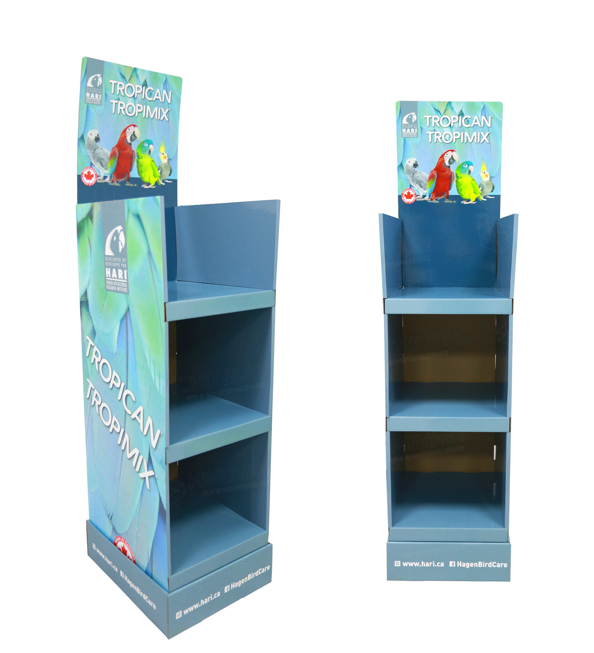 Supermarket Or Store Advertising Cardboard Floor Display Stand
