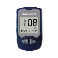 CE ISO Approval glucose monitoring device glucometros para diabeticos glucometers for diabetics