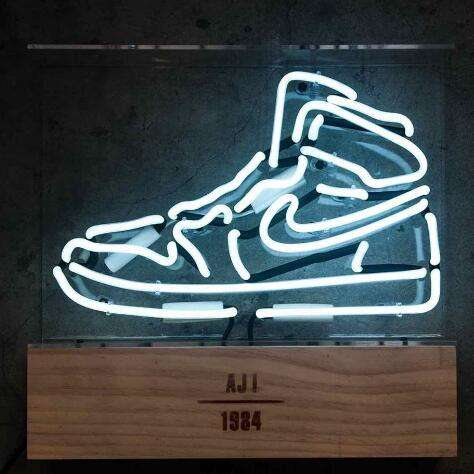 factory made cheap price custom neon sports sneaker shoe neon led sign for sale