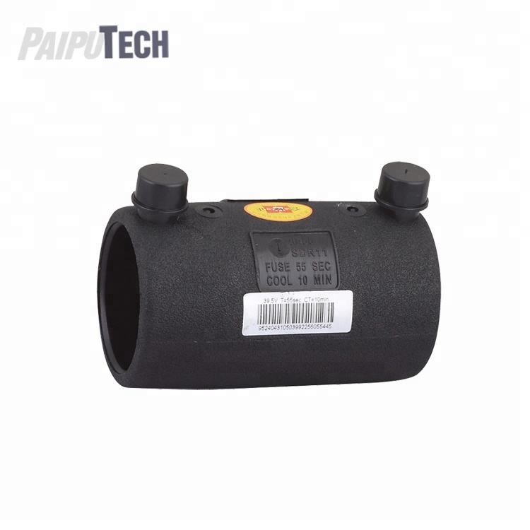 Plastic Pipe Fitting HDPE/PE Electrofusion Coupler