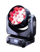 dj light led 19pcsx10w 4in1 rgbw led flat par led beam zoom stage lighting systems