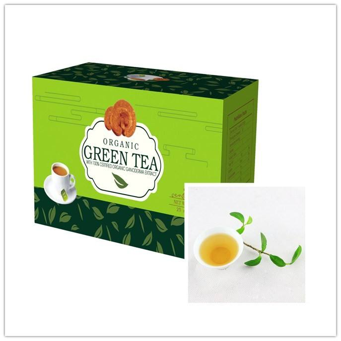 Amazon Hot Koop China Kruiden Reishi Ginseng Groene Thee Private Label Fabrikanten