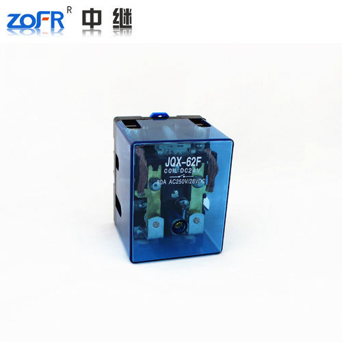 Hot sale DPDT JQX-62F 2Z 100A durable power relay