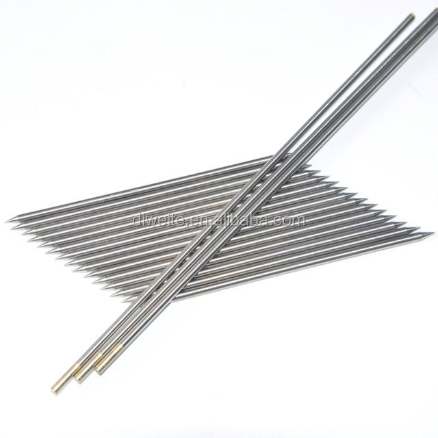 black color tip wl10 tungsten electrodes