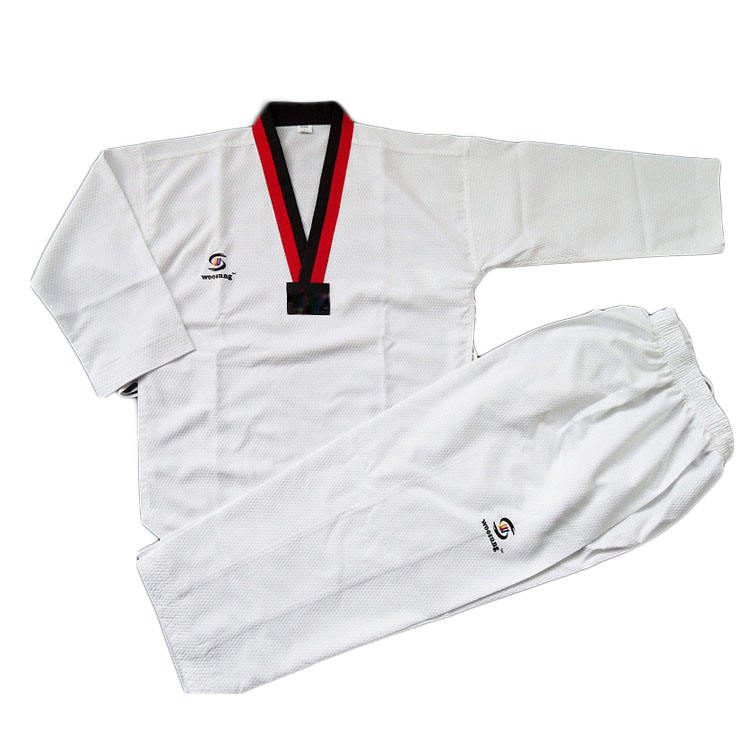 TAEKWONDO UNIFORM DOBOK martial arts uniform Student TKD Uniform/weißen gürtel