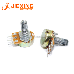 16mm Pot WH148 B50K Lineaire Potentiometer 3pin 50 K B503 Single Rotary Potentiometer As 15mm