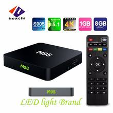 1080p android tv box dvb t2 M9S Built-in WiFi M9S TV Box with 4 High speed USB 2.0 android tv box dual tuner M9S