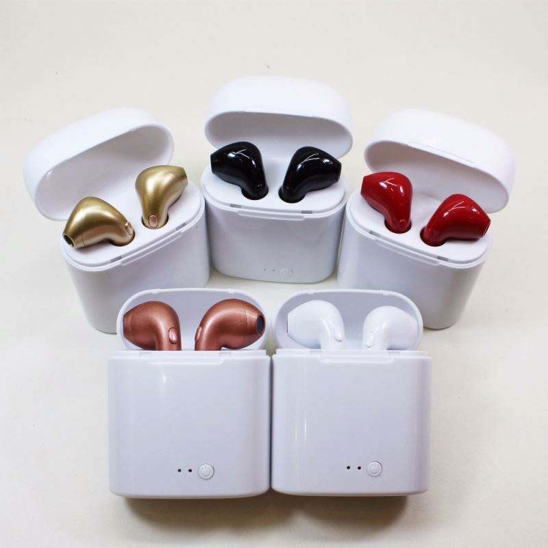 Kualitas Terbaik Mini Wireless Headphone I7s Tws/I88/I9s Tws/I12 Tws Bt Earphone Nirkabel Earphone
