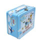 Full printing old master Q handle metal custom tin lunch kids box wholesale with a lock
