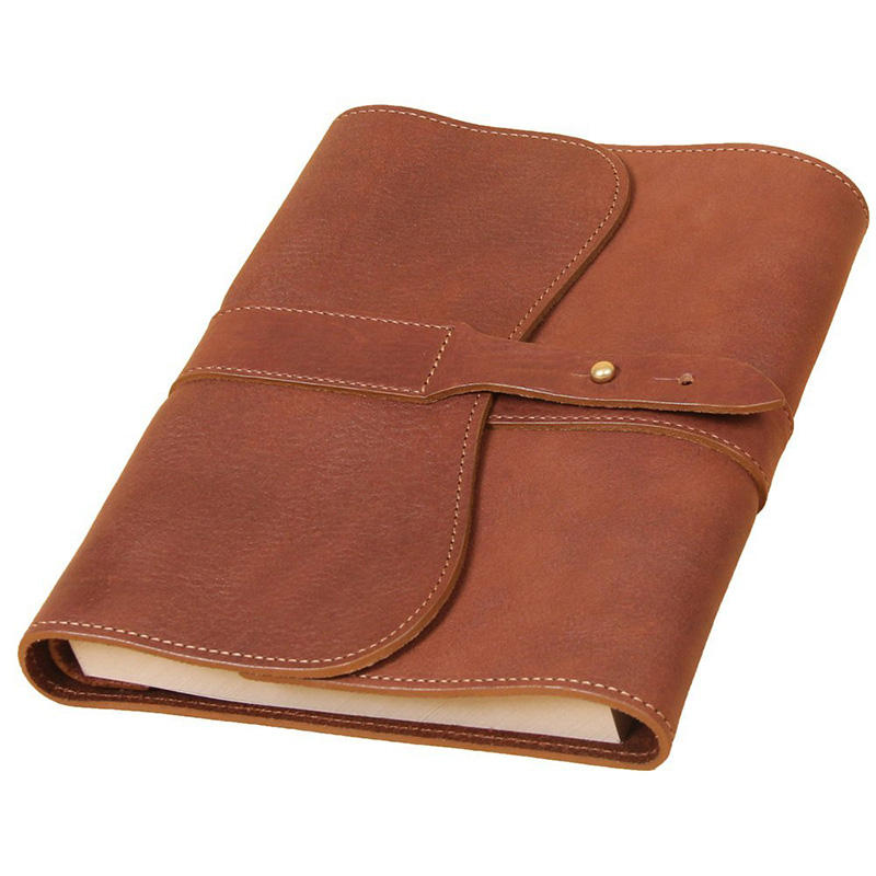 9 inches x 7inches Brown refillable pages leather journal lined paper book vintage notebook wholesale
