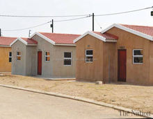 low cost housing in Mozambique