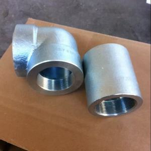 ASTM A105/A105N A182 F304 A182 F1,Forged SW elbow,socket welded elbow45,90deg,2000LB-6000LB,Stainless,Carbon,Alloy Steel