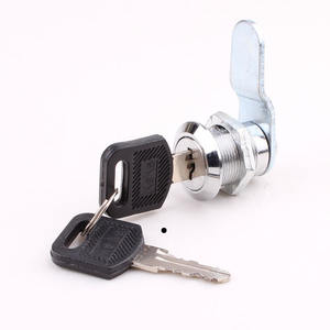 Cixi HS102 high quality zinc alloy die-cast housing and cylinder hardware fitting stainless steel cabinet cam lock