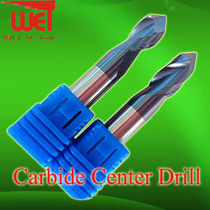 WET 90 Degree angle drill Carbide Center Drill