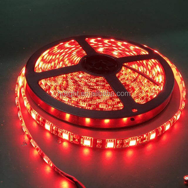 KEEY High Brightness 5050 High Quality black pcb LED Strip Light For Christmas / New Year