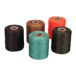 Polyester Flat Waxed Braided Sewing Thread