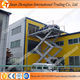 2t/4t Bearing capacity hydraulic fixed car scissor lift elevator used for 4s shop