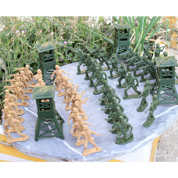 small customized plastic soldiers/plastic army men/OEM toy soldiers