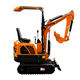 Mini Excavator China Excavator China Mini Excavator 0.8T Small Digger 1 Ton Excavator With Rubber Track