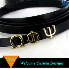 Wholesale Greek Letter Beads Flat Metal Greek Letter Beads fit 10mmx2mm Leather Bracelet