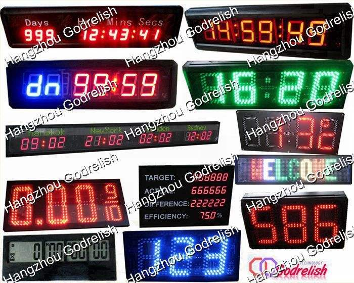 Brand new red digital led chronometers with low price