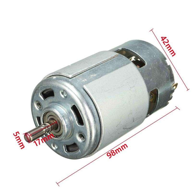 Smart Electronics DC 12V 150W 13000~15000rpm 775 motor High speed Large torque DC motor Electric tool machinery