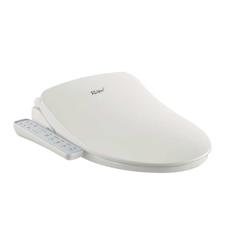 Amazon Hot Selling Bathroom Wc White portable combination Western Electronic bidet toilet seat