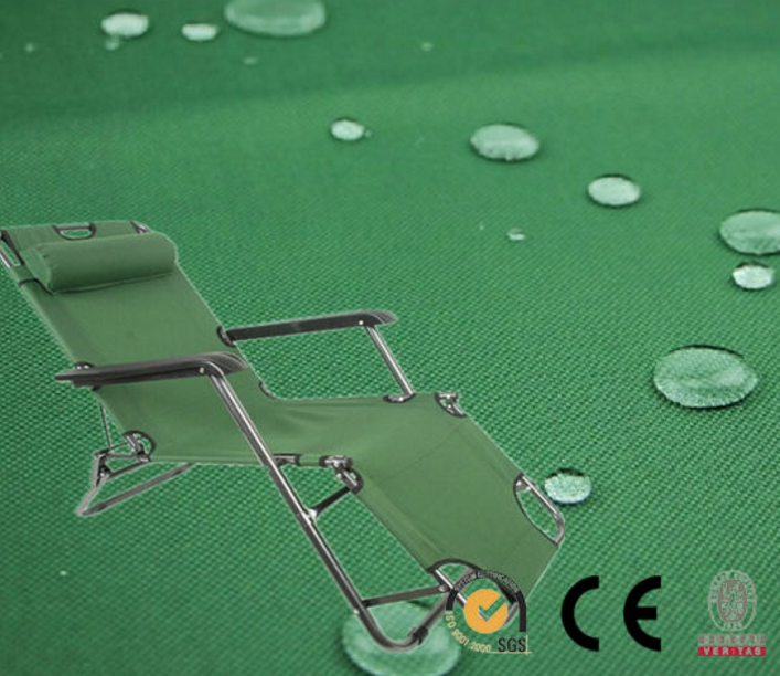 PVC waterproof oxford fabric for folding beach chair nylon fabric folding chair fabric