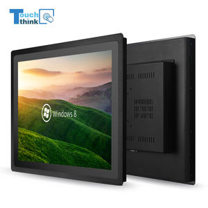 3mm 19'' Super Slim Bezel Industrial Touch Screen Tablet PC touch screen all in one panel pc I5 optional business/education