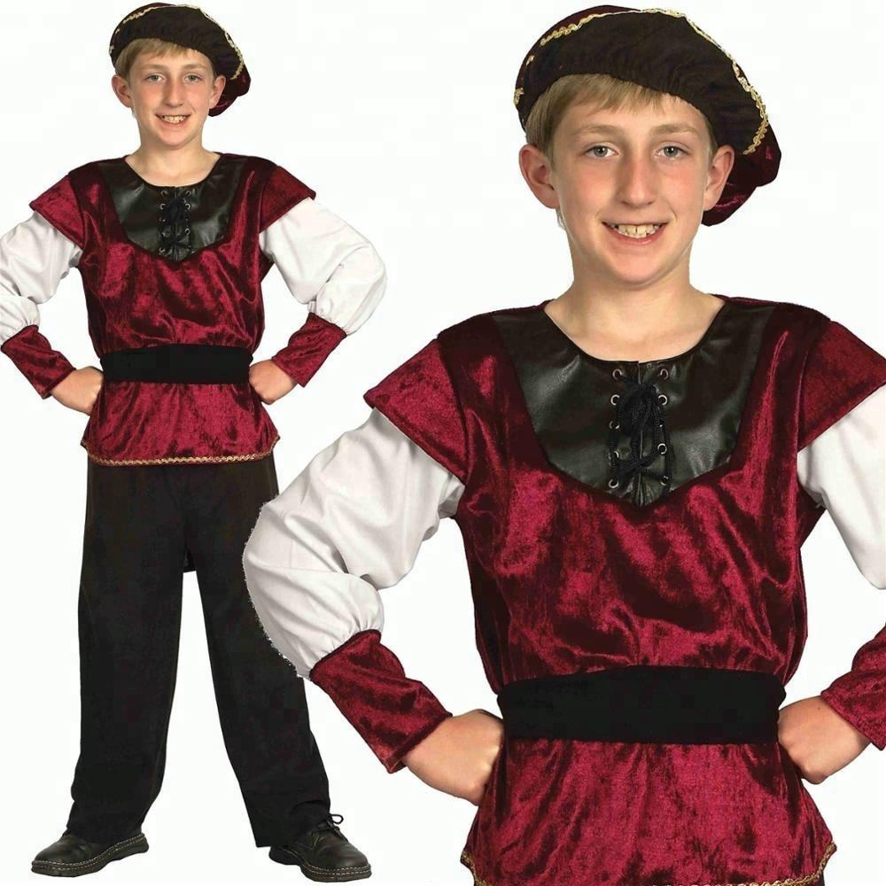 MEDIEVAL//TUDOR//HISTORICAL BOY Fancy dress ALL AGES