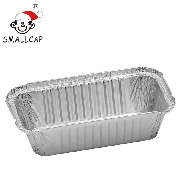 Takeaway 20x11x5cm ,no 6a 1.5lb 670ml 1067 Fast Food Storage Containers take away aluminum foil food container REC22125I