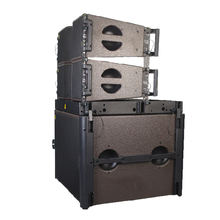 Dual 8 inch mini line array speaker KARA loudspeaker passive speaker neodymium components audio