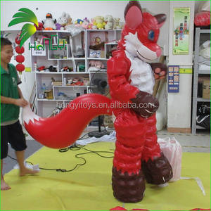 Customized Inflatable Vixen Suit / Inflatable Animal Mascot Fox Costume Toys / Inflatable Fox Costume for Decorations