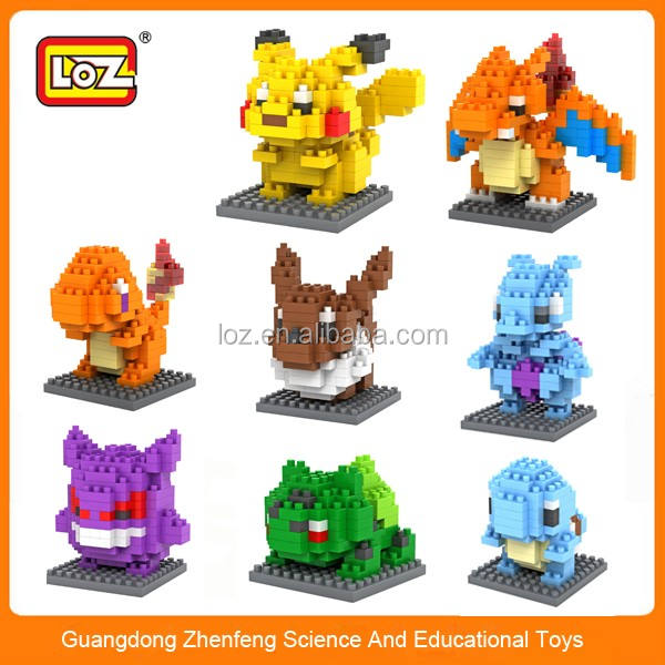 LOZ diamond blocks, LOZ, pokemon toys