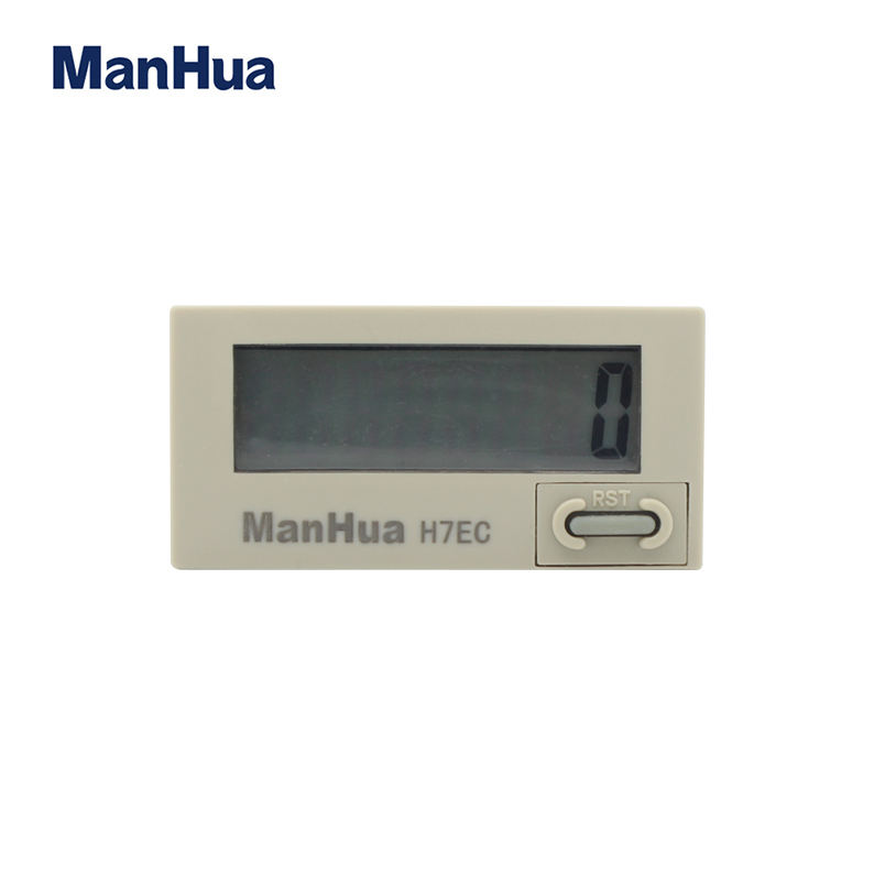 Manhua H7EC-N Self-Praise Internal Lithium Umur Panjang Baterai Counter Tidak Tegangan Input Counter Digital